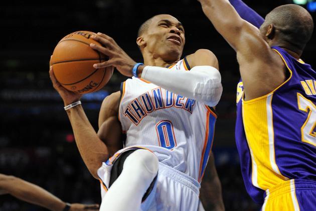 NBA Gamecast: Thunder vs. Knicks