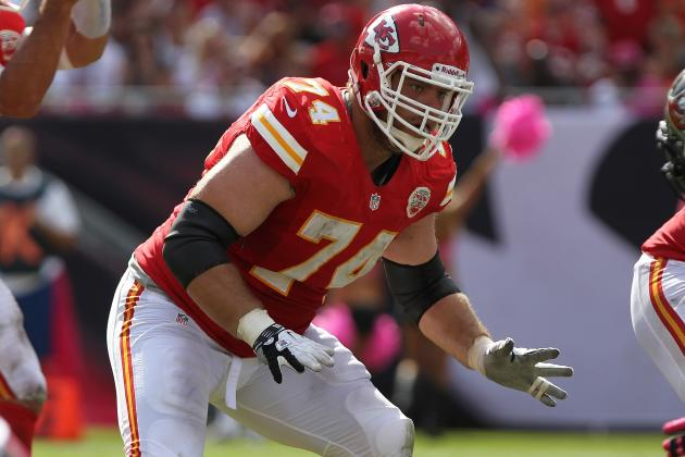 Chiefs' Plans for the Offensive Line Are Murky After Eric Winston's Release