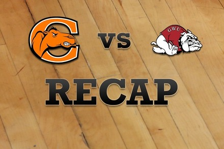 Campbell vs. Gardner-Webb: Recap, Stats, and Box Score