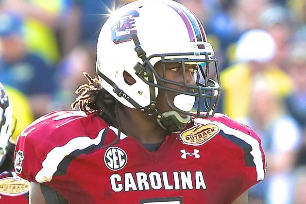 Jadeveon Clowney Obtains $5 Million Insurance Policy Through NCAA