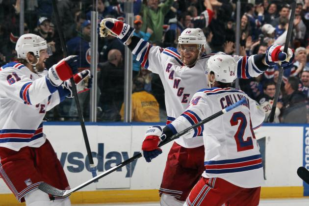 Marian Gaborik's Power-Play Goal in OT Lifts Rangers over Islanders