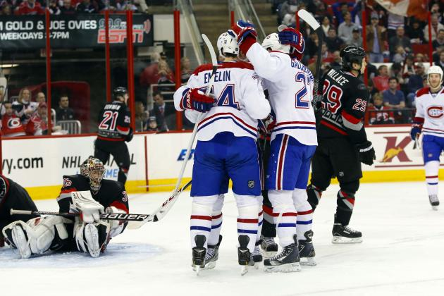 Canadiens 4, Hurricanes 2