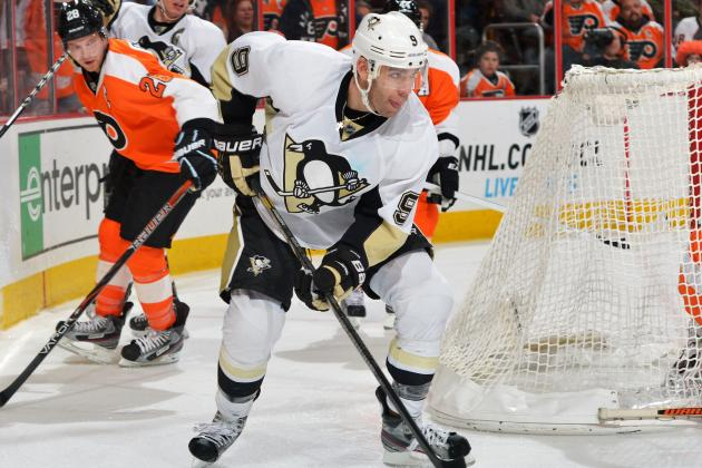 Flyers Start Hot but Kunitz Helps Penguins Rally