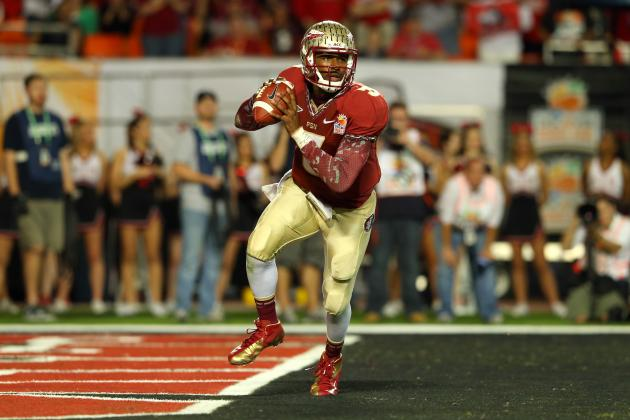 Breaking Down the Draft's Only True Read-Option QB Prospect: EJ Manuel