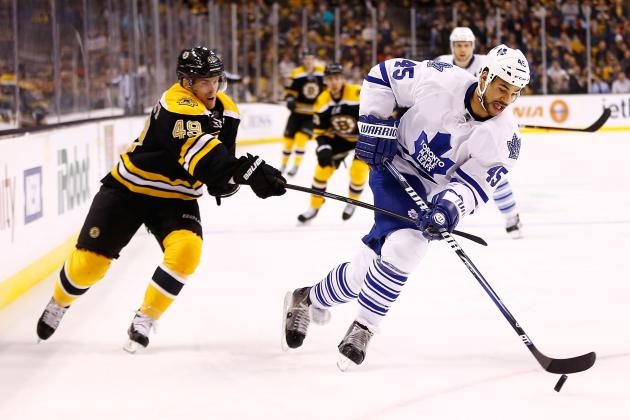 Bruins Beat Maple Leafs to Snap Mini-Skid