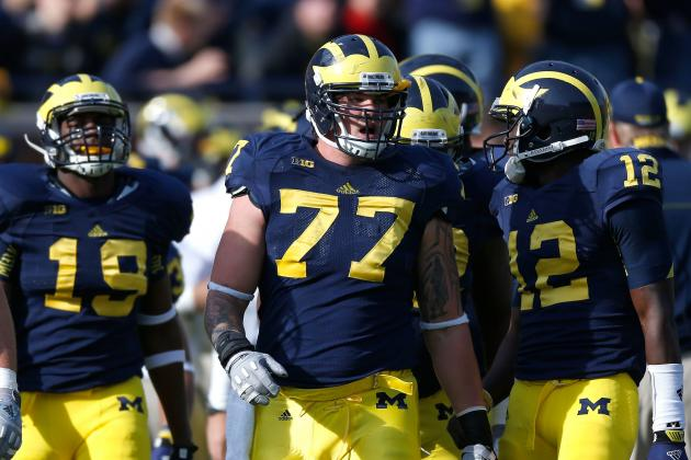Michigan Football: Why O-Line, Taylor Lewan Will Be Key for Wolverines in 2013