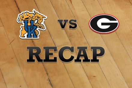 Kentucky vs. Georgia: Recap, Stats, and Box Score