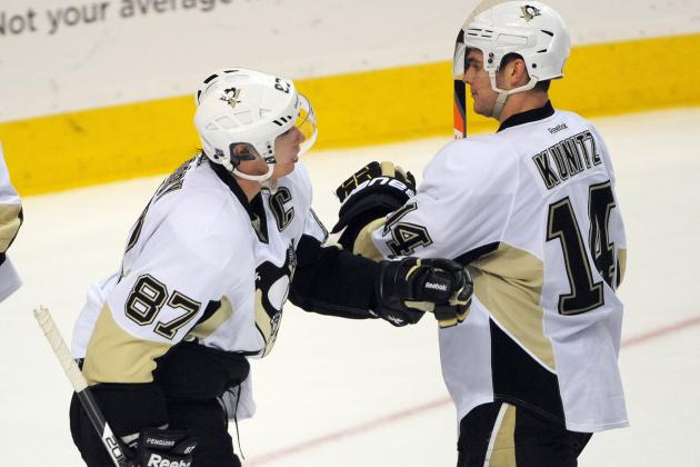 Penguins rebound from three-goal deficit to beat Flyers, 5-4