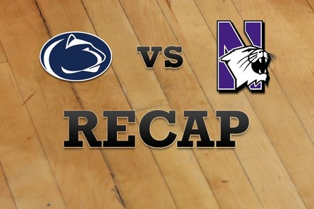 Penn State vs. Northwestern: Recap, Stats, and Box Score