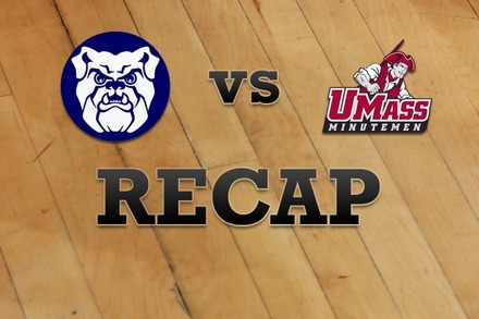 Butler vs. Massachusetts: Recap, Stats, and Box Score