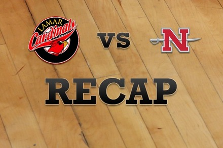 Lamar vs. Nicholls State: Recap, Stats, and Box Score