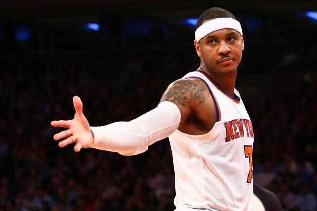Is Carmelo Anthony a Lightweight or Just Being Cautious?