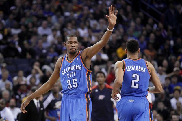 Thunder Hang on Against Melo-Less Knicks, 95-94