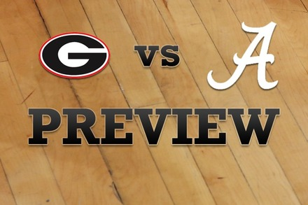 Georgia vs. Alabama: Full Game Preview