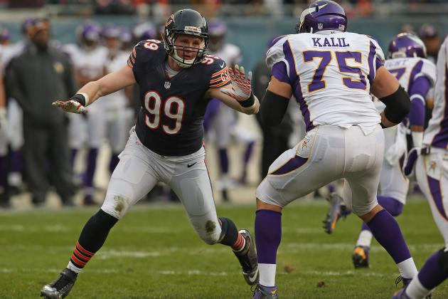 Early 2013 Season Predictions for Bears Second Year DE Shea McClellin