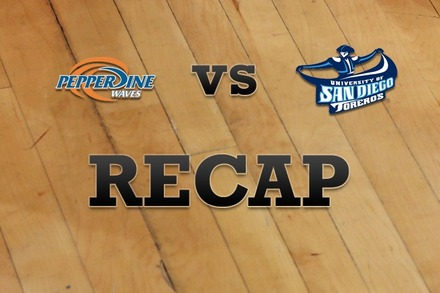 Pepperdine vs. San Diego: Recap, Stats, and Box Score