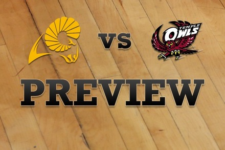 VCU vs. Temple: Full Game Preview