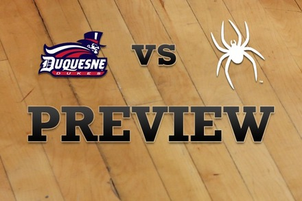 Duquesne vs. Richmond: Full Game Preview