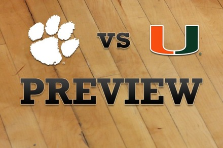 Clemson vs. Miami: Full Game Preview