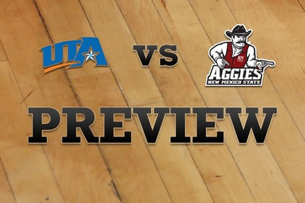 Texas-Arlington vs. New Mexico State: Full Game Preview