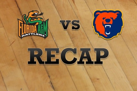 Florida A&M  vs. Morgan State: Recap, Stats, and Box Score