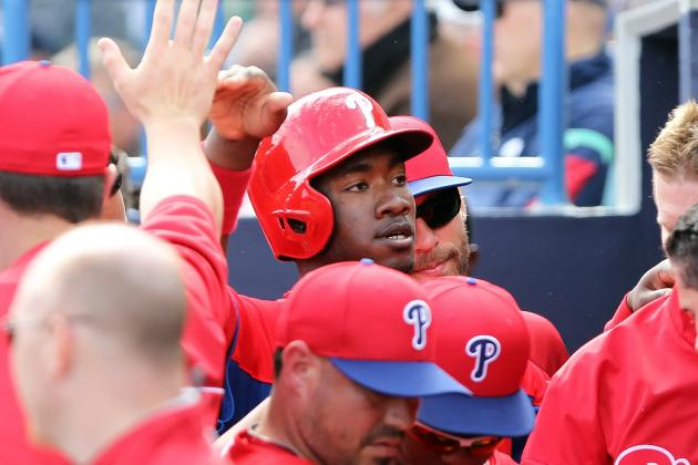 Phillies' Domonic Brown in Line to Win Outfield Job