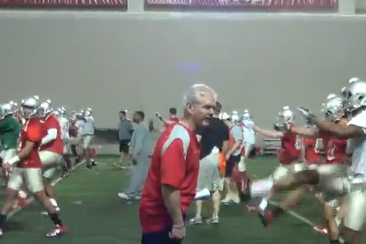 Kerry Coombs: Ohio State Coach Chews out Kicker (VIDEO)