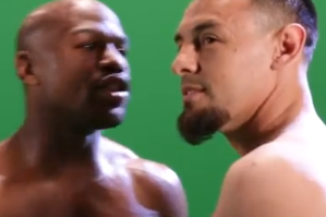 Video: Floyd Mayweather vs Robert Guerrero: Heated First Encounter