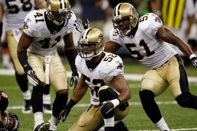 LB Jonathan Casillas Hasn't Talked with New Orleans Saints on a New Contract