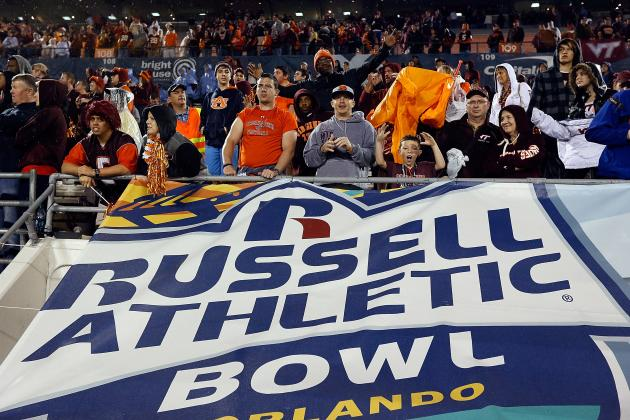 Report: Big 12 in Discussions with Russell Athletic Bowl