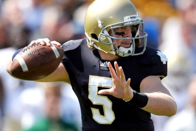 Gunner Kiel Reportedly Plans to Transfer from Notre Dame