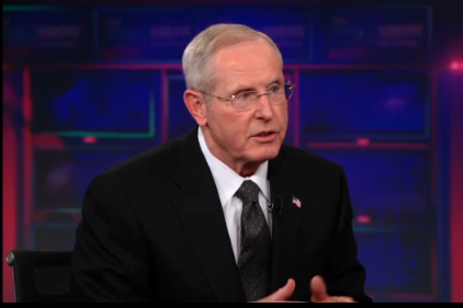 WATCH: Tom Coughlin Entertains Jon Stewart on 'The Daily Show'