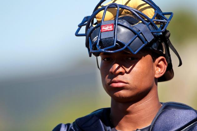 Braves Catching Prospect Bethancourt Shows Improvement