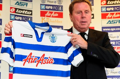 Redknapp Happy with QPR Finances