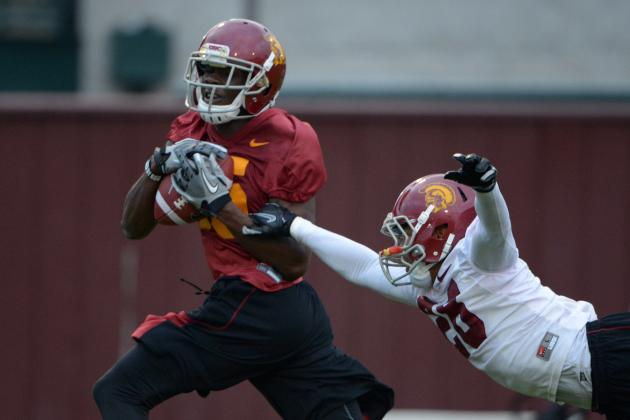 USC's Nelson Agholor Looks Ready to Fill Robert Woods' Shoes
