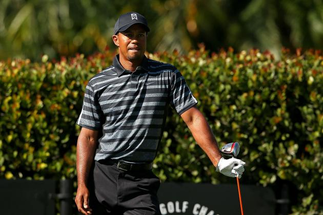 Woods Makes Equipment Change in First Round of Cadillac Championship