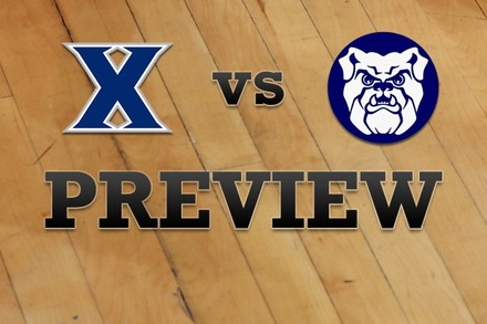 Xavier vs. Butler: Full Game Preview