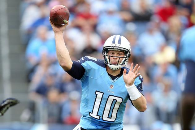Titans' QB Jake Locker Defends Comments About Passing Accuracy