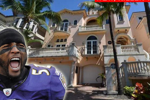 Ray Lewis' Florida Mansion for Sale
