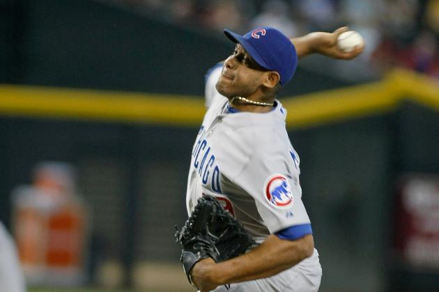 Marmol Struggles in 25-Pitch Inning