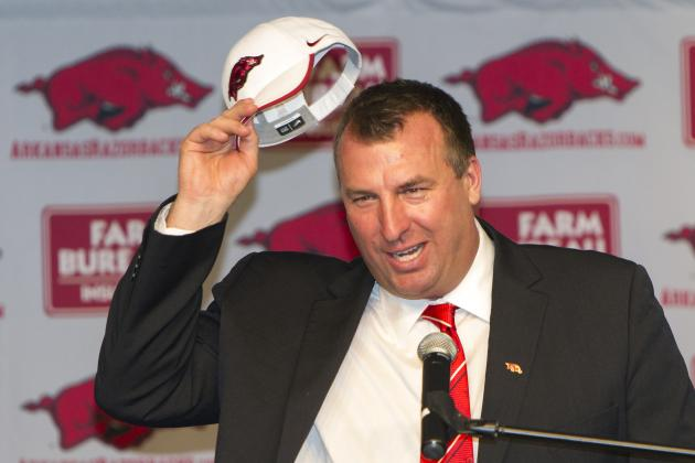Bielema Closing First Spring to Public