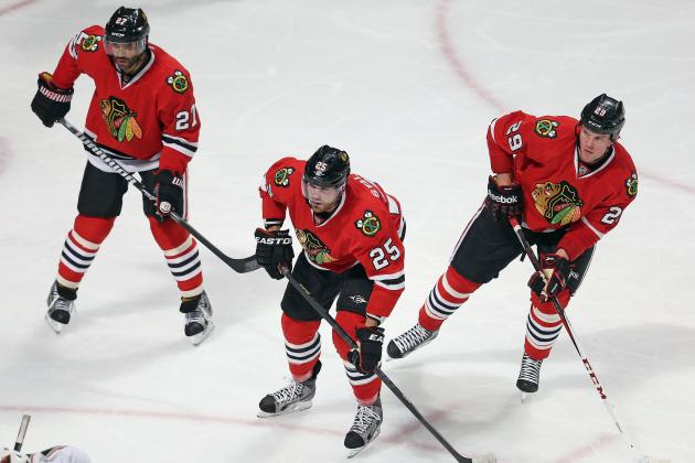 Blackhawks Get Significant Offense from Checking Line