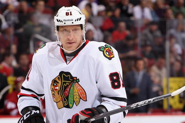 Hossa, Frolik and Shaw All in Tonight vs. Avalanche