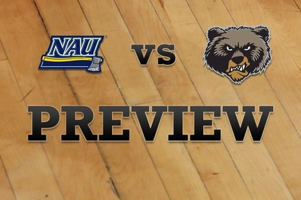 Northern Arizona vs. Montana: Full Game Preview