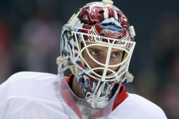 Red Wings Getting Healthier, Planning to Start Jonas Gustavsson