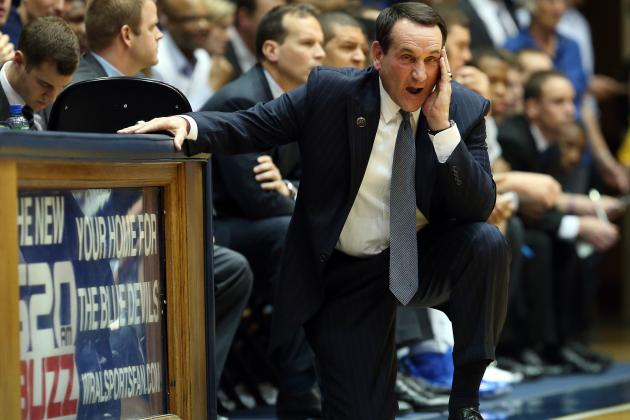 Coach K Is Right: NCAA Needs to Get a Handle on Storming Student Sections