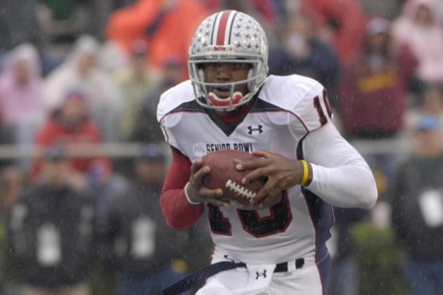 OSU Pro Day -- Troy Smith Show He Stills Has It