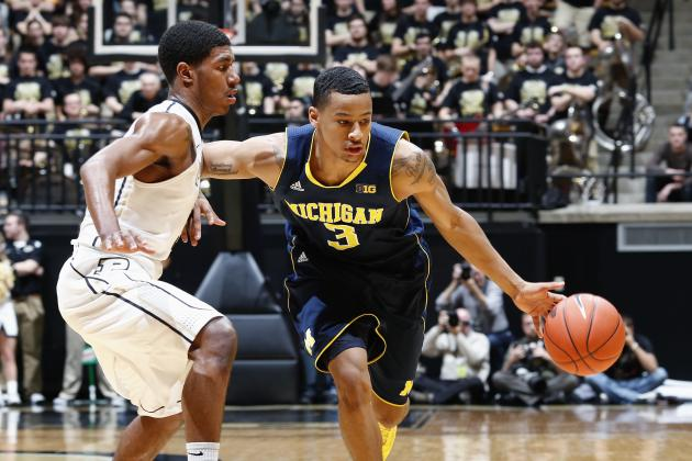 Matchup with Indiana's Victor Oladipo Doesn't Faze Michigan's Trey Burke