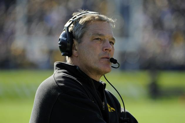Iowa Coach Kirk Ferentz Needs to Stop Hiring Family
