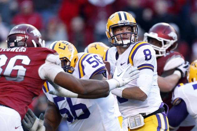 LSU's Mettenberger Has Most to Prove